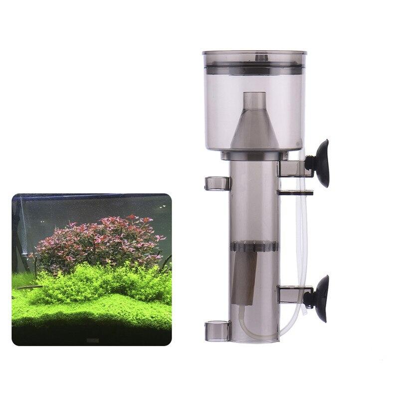 Plastic Aquarium Protein Skimmer Air Pump Driving Fish Tank Pneumatic Protein Separator With Wood Air Stone Aquarium Accessories