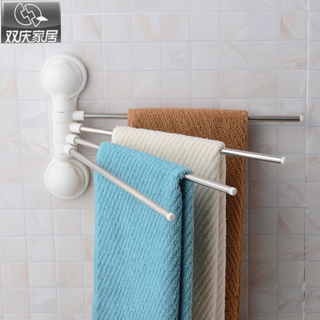 Elegant Suction Cup towel Bar for Shower