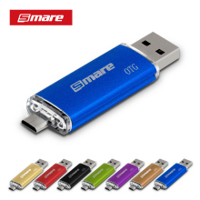 Smare pendrive otg unidade flash usb do smartphone 4 gb/8 gb/16gb32gb/64 gb pen drive usb 2.0 flash drive para o telefone inteligente