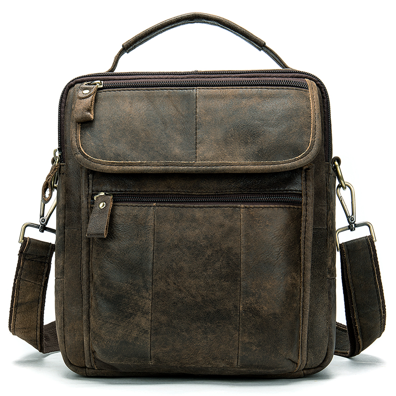 76b7541aea61 WESTAL Men's Genuine Leather Bag Crossbody Bags for Men Messenger Bag Men  Leather Men's Shoulder Bags