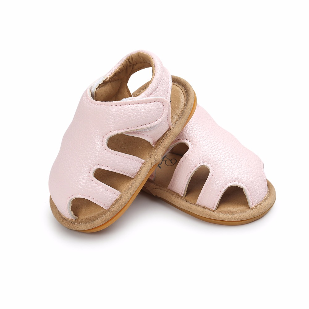Infant Sneakers Us 2 95 5 Off New Jeans Hollow Crib Sandals Cute Style Boys Girls Pu Leather Sandals Rubber Sole Infant Sneakers Baby Sandals In Sandals Clogs