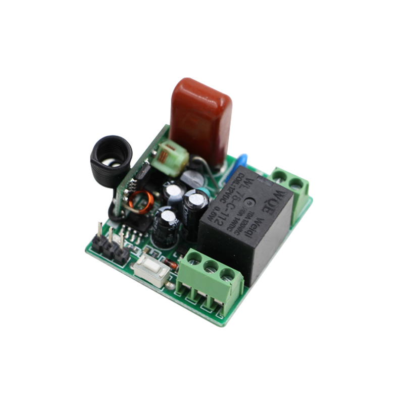 AC 220V 10A Mini Relay Receiver Remote Control Switch 315/433mhz learning code Smart Home Receiver Light Lamp LED