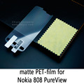 Glossy Lucent Frosted Matte Anti glare Tempered Glass Protective Film On Screen Protector For Nokia 808 PureView / Nokia 803