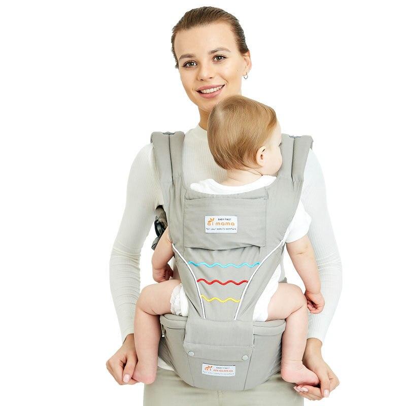 Porte-bébé face avant ergonomique pour bébé sac à dos à bandoulière porte-bébé taille poche Wrap kangourou pour voyager