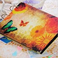 Free Shipping 10 Inch Diy Album Scrapbook Paper Crafts Diy Handmade Photograph Holder Wedding Gifts 30sheet