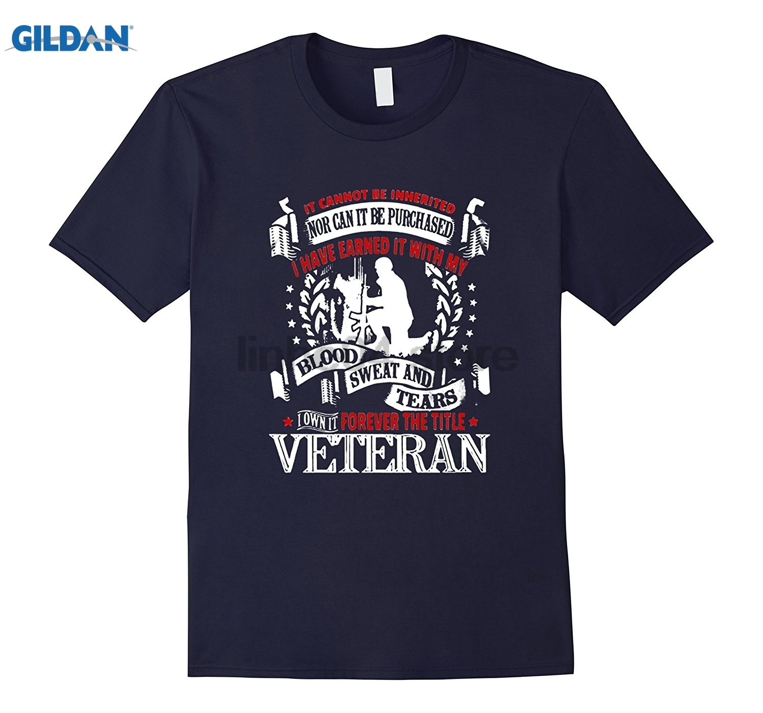 GILDAN u.s Woman Veteran Tshirt dress T-shirt Mothers Day Ms. T-shirt