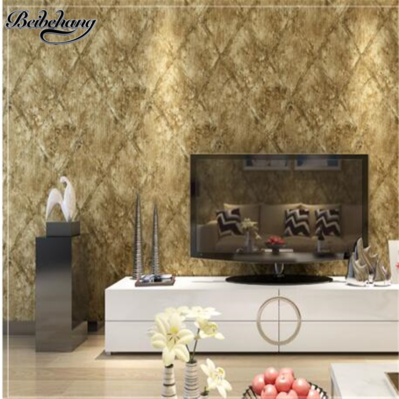 Beibehang papel de parede wallpaper American village retro eco-friendly non-woven wallpaper bedroom living room TV backdrop a la