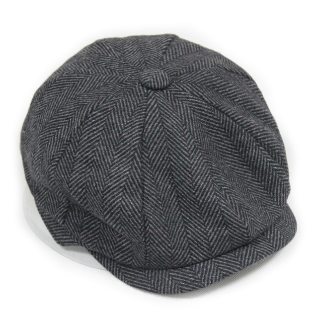 ef6e9e3a Fashion Octagonal Cap Newsboy Beret Hat Autumn And Winter Hats For Men's  International Superstar Jason Statham Male Models
