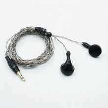 הוא אודיו רמבו נהג דינמי HiFi Audiophile אוזניות אוזניות (3.5mm אודיו/2.5mm מאוזן)