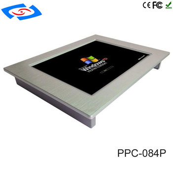 Factory Store 100% Well Tested Rugged Industrial Panel PC With 4xCOM/3xUSB 2.0/2xLAN/1xVGA/1xHDM Support Customization Tablet PC
