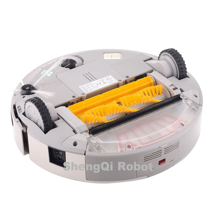 4 In 1 Multifunctional A325 Robot Vacuum Cleaner, LCD Touch Clean Schedule Auto Rechargable Robotic Floor Sweeper Robot Vacuum