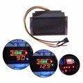 DC6-120V Multi-función Impermeable Rojo LED Digital AC Voltímetro Medidor de Voltaje de La Motocicleta Eléctrica 12 V de Plomo-ácido calibre