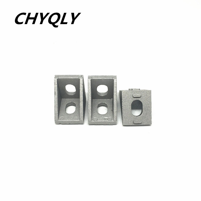 50pcs/lots 2020 corner fitting angle aluminum 20 x 20 L connector bracket fastener match use 2020 industrial aluminum profile 20pcs 4040 corner fitting angle aluminum 40 x 40 x 35mm connector bracket fastener match 4040 industrial aluminum profile