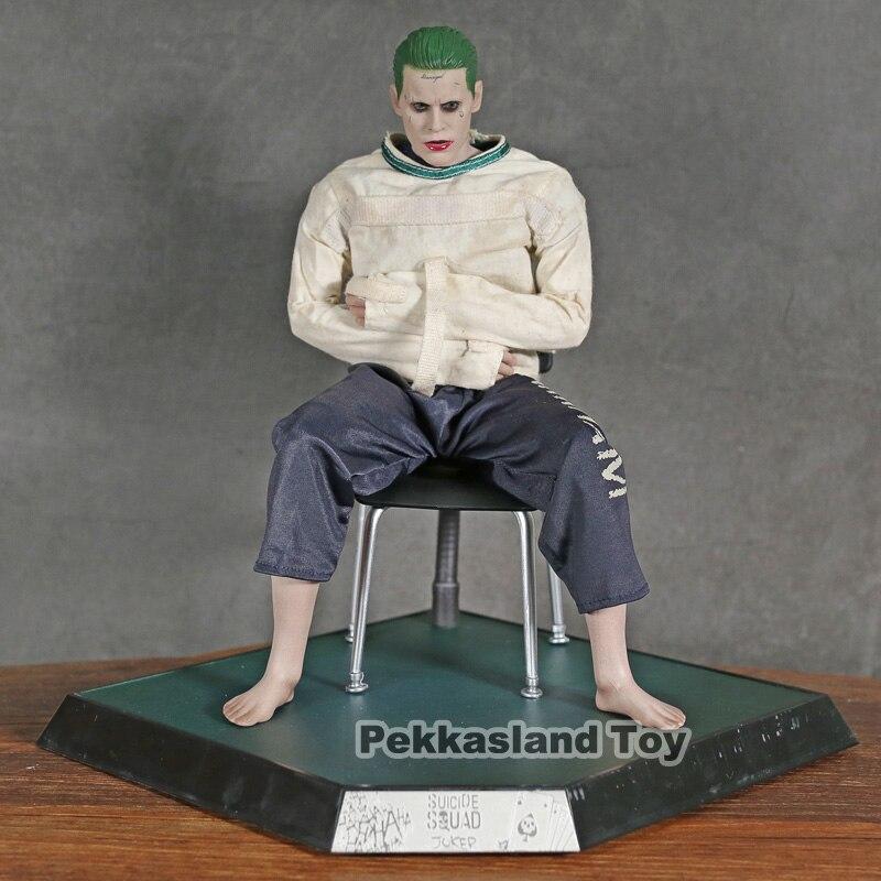 Jouets chauds film DC Suicide Squad Joker dans l'hôpital psychiatrique Arkham asile Version PVC figurine d'action modèle à collectionner jouet