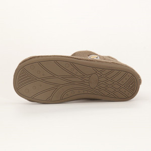 Image 4 - FAYUEKEY 새로운 겨울 패션 홈 여성 코튼 플러시 가짜 모피 두꺼운 따뜻한 구두 실내 층 야외 여성 플랫 신발