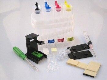 Ciss tinta Kit para HP 650 650XL para HP650 CZ101AE CZ102AE para HP Deskjet serie tinta ventaja 2515, 1015, 1515, 2545, 2645 impresora Ciss tanque