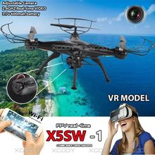 X5SW Actualización X5SW-1 6-Axis Gyro 2.4G 4CH Rc Helicópteros FPV Modelo Rc Quadcopter Drone WIFI Con el Trabajo de Cámara Con VR helicóptero
