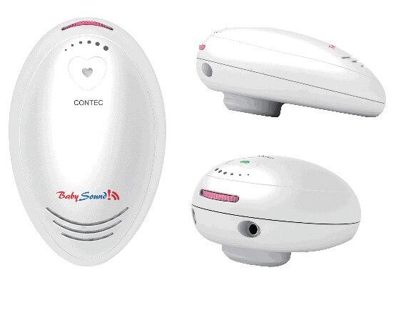 где купить 2MHZ Contec Baby Sound C Prenatal Fetal Doppler Baby Heart Monitor + free gel по лучшей цене