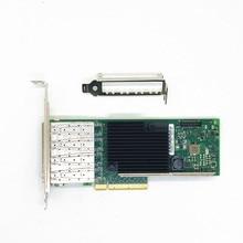 4 Порты и разъёмы 10-Gigabit объединенные сетевые карты серверный адаптер X710-DA4