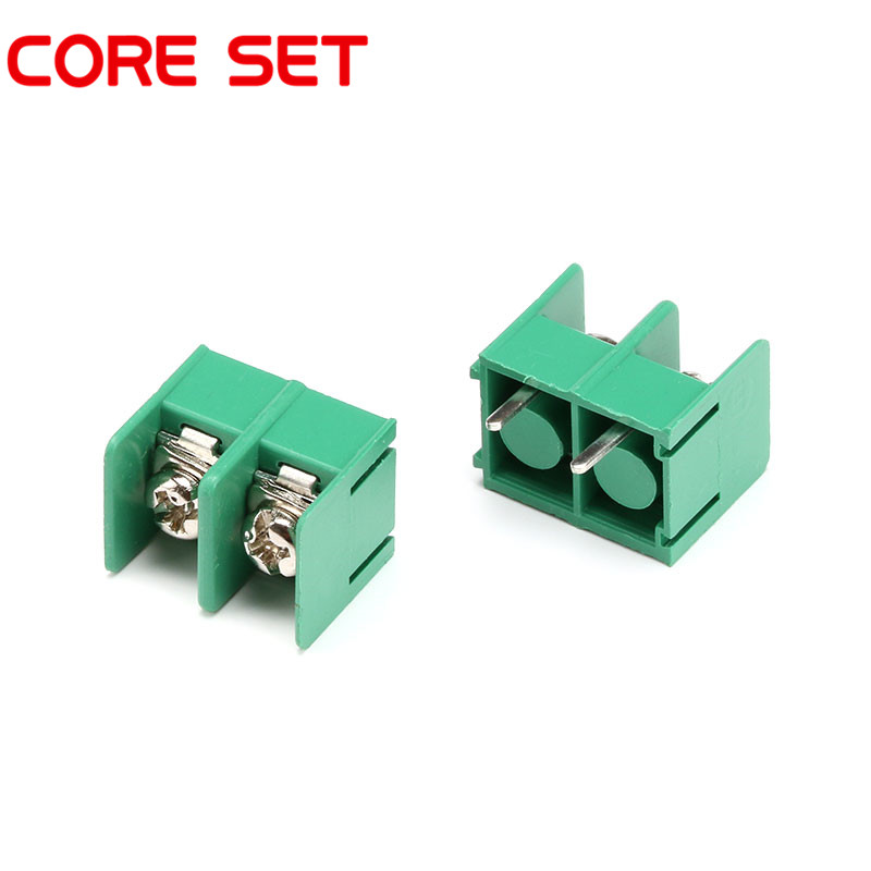 10pcs/lot KF7.62 7.62MM Pitch 2Pin PCB Screw Terminal Block Connector KF7.62-2P 300V/20A printer paper take up reel system for epson stylus pro 11880c