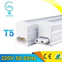 PVC Plastic 6W 10W LED Tube Light 220V 240V 60cm 30cm LED Wall Lamp Cold White LED Fluorescent T5 Neon LED T5 lamp