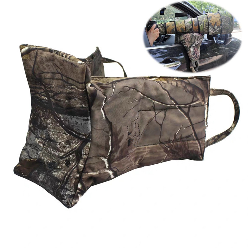 Musan Lens Gun Window Pillow Photographic Bean Bag( With Zipper Should Be Self Loading) Empty Camouflage Bag