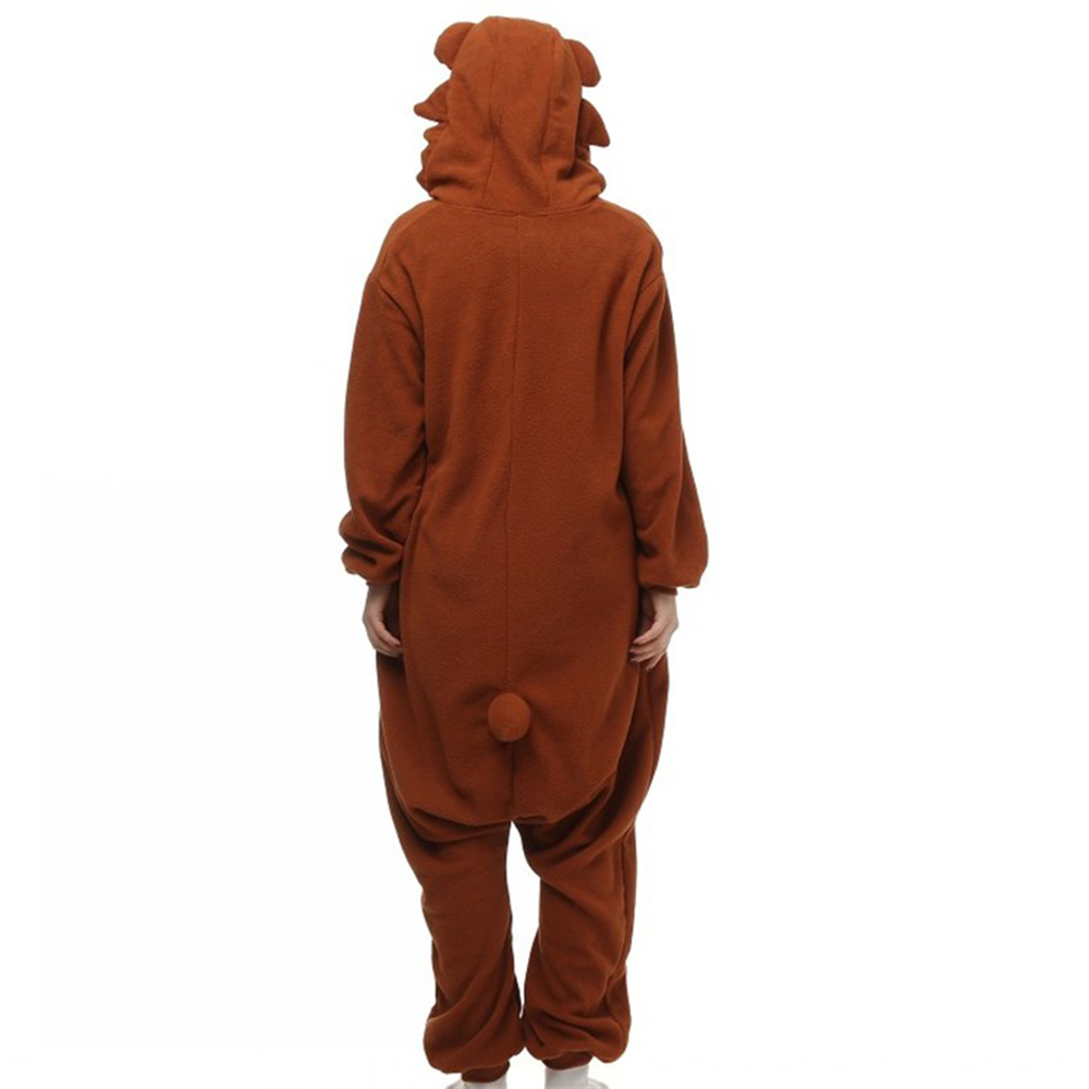 brown bear cosplay pajamas2