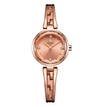Hot Sale WWOOR Top Brand Luxury Super Slim Stainless Steel Rose Gold Watches Women Casual Clock Ladies Lady Relogio Feminino(China)