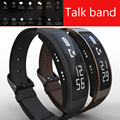 Bluetooth talkband b3 conversa inteligente pulseira sports heart rate monitor de fitness dispositivo pulseira para ios android pk huawei banda b2