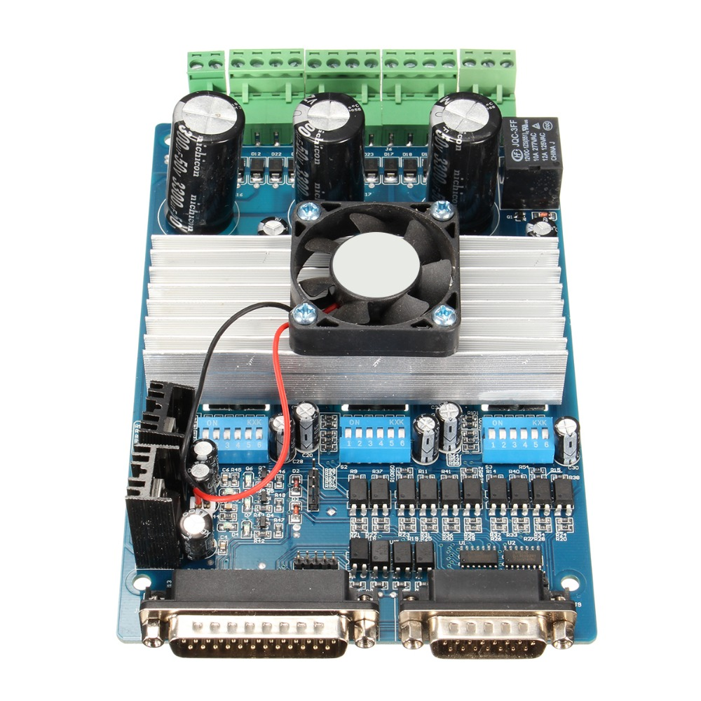 Hot sale cnc 3 axis tb6560 stepper motor driver controller for Best stepper motor for cnc