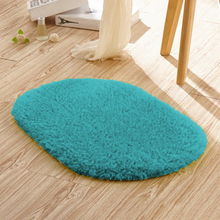 Soft Comfortable Carpet Absorbent Fine Fiber Super Non-slip Effect Footcloth High Quality Oval Hot lovely