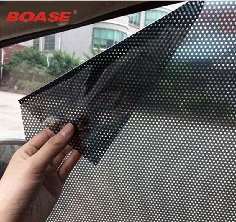 Štítek do auta 2ks / šarže uv nálepka auto sluneční clona elektrostatické nálepky auto dodávka sluneční clona stínící nálepky