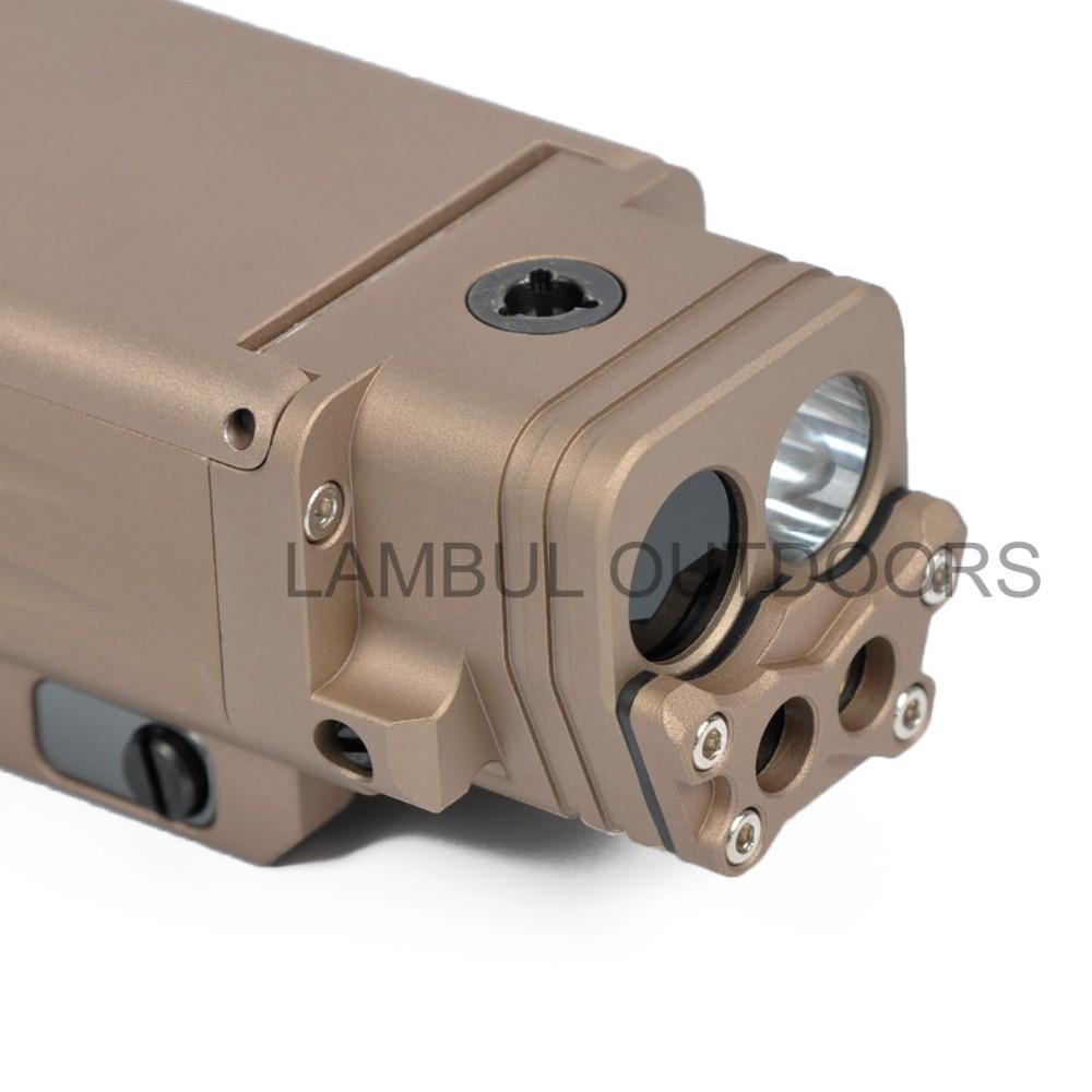 visível ponteiro laser strobe arma luz