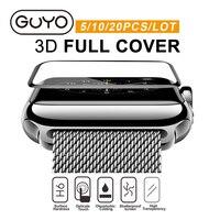 10 ADET/GRUP HD 9 H Sertlik Ekran Film Apple İzle Temperli Cam koruyucu Apple Ürünü için 38mm 42mm Serisi 2 3 1 Koruyucu