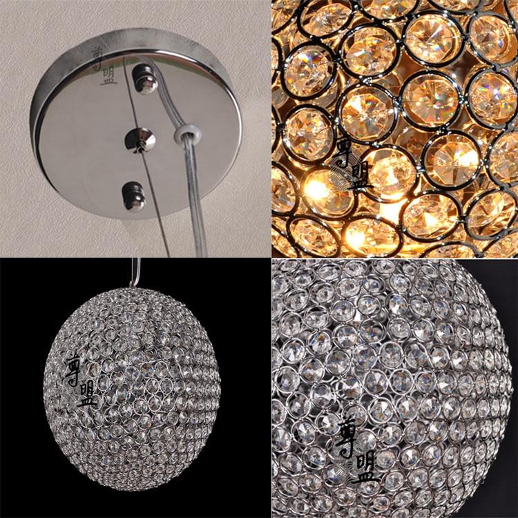 Современный K9 Кристалл Капля светильник ing заподлицо светодиодный подвесной светильник для столовой
