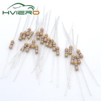 500pcs 470 Ohm Resistors 1/4W Ideal for DC 12V LEDs 470R 5% Carbon Film resistor цена 2017