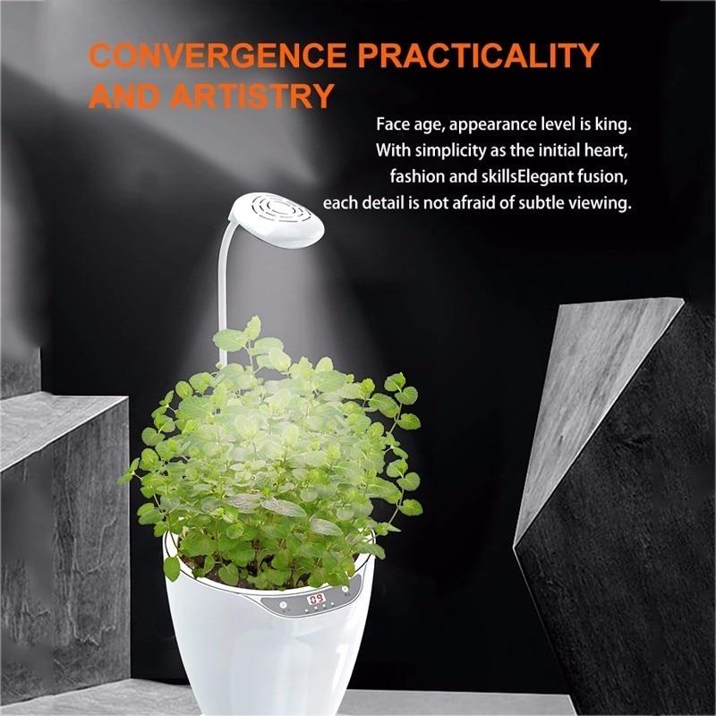 2019 Smart Herb Garden Led Grow Light Hydroponic Growing Flower