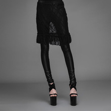 Women Faux Leather 2017 Spring Autumn Gothic Punk Legging Female Lace Patchwork Black Leggings Pants Hign Quality Trousers