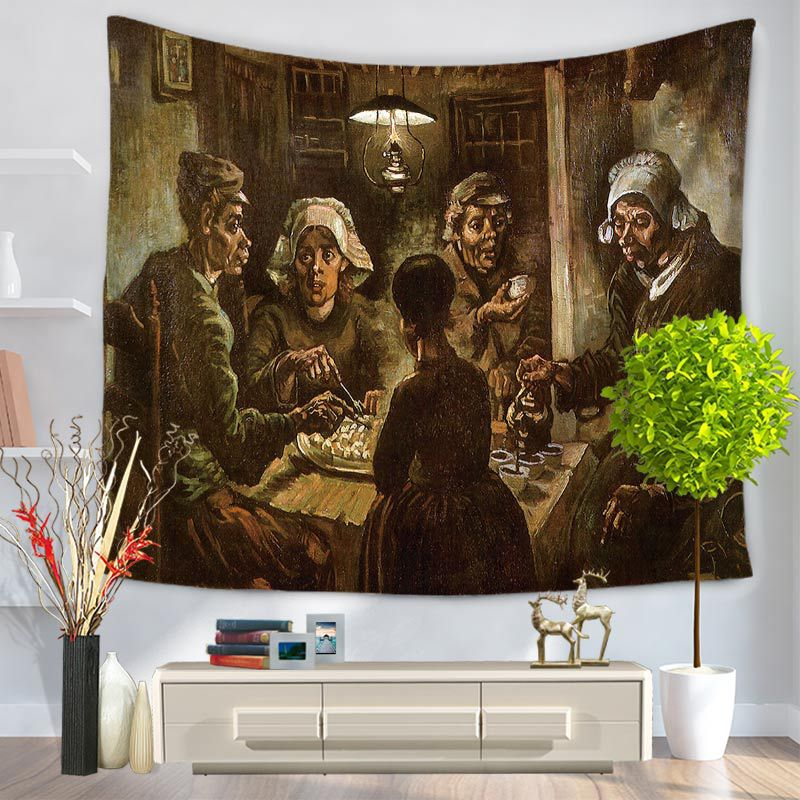 Picasso figure painting Tapestry Mandala Wall hanging Tenture Murale mandalas tapestry Blanket Indian tapiz pared Home Decor