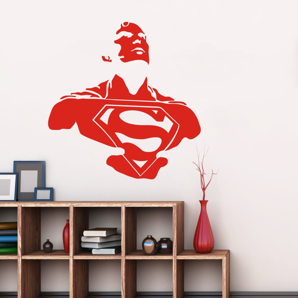 Superman wall murals images home wall decoration ideas superman wall murals amipublicfo Choice Image