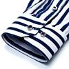 Business men casual fashion stripe long sleeved shirts 3