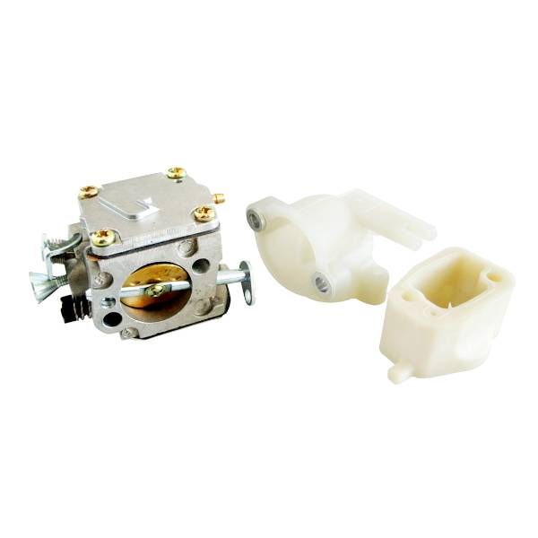 Carburetor /& Air Intake Manifold /& Intake Elbow For HUSQVARNA 268 272 Chainsaw