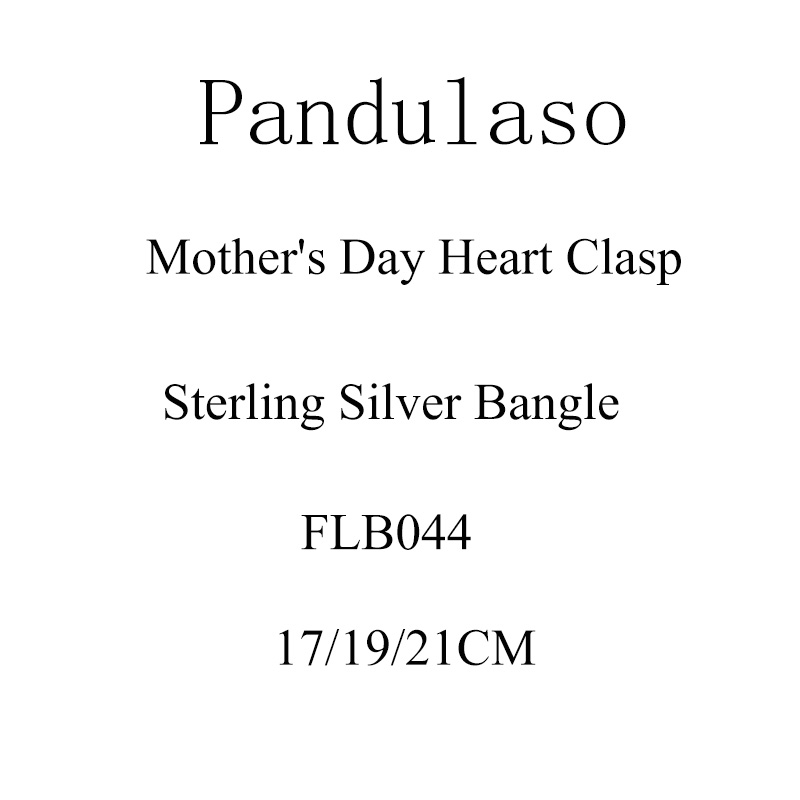 Pandulaso Mothers Day Heart Clasp Sterling Silver Bracelets For Woman DIY jewelry making Fit European Beads & Charms JewelryPandulaso Mothers Day Heart Clasp Sterling Silver Bracelets For Woman DIY jewelry making Fit European Beads & Charms Jewelry