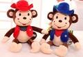 50 см обезьяна игрушка, Обезьяна плюшевые игрушки обезьяна подушка, Обезьяна кукла животных лучший подарок для детей