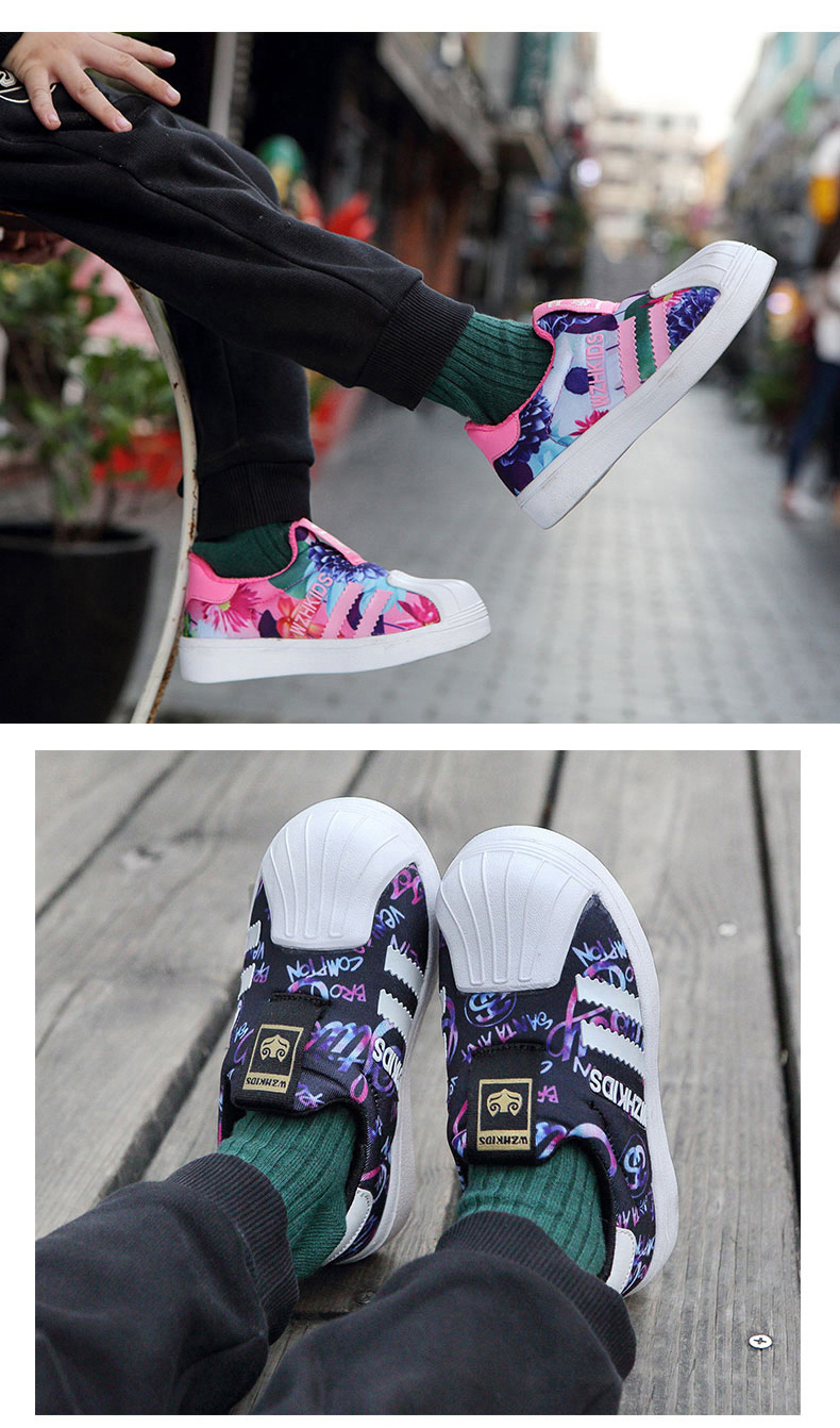 2019 Spring Autumn New Children Shoes For Girls Sneakers Boys Mesh Kids Shoes Fashion Casual Sport Running Leather Shoes girl  (13)