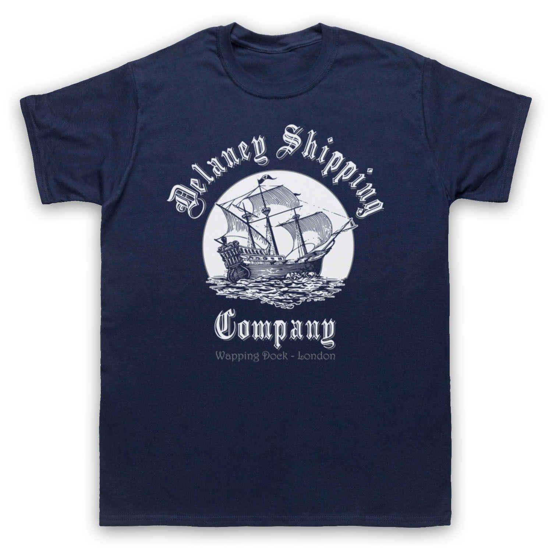 Stampa Popolare Fresco Compagnia di Spedizioni di Londra Tabù Ispirato Siti Web di Tendenza T-Shirt Per Gli Uomini di formato S-3XL