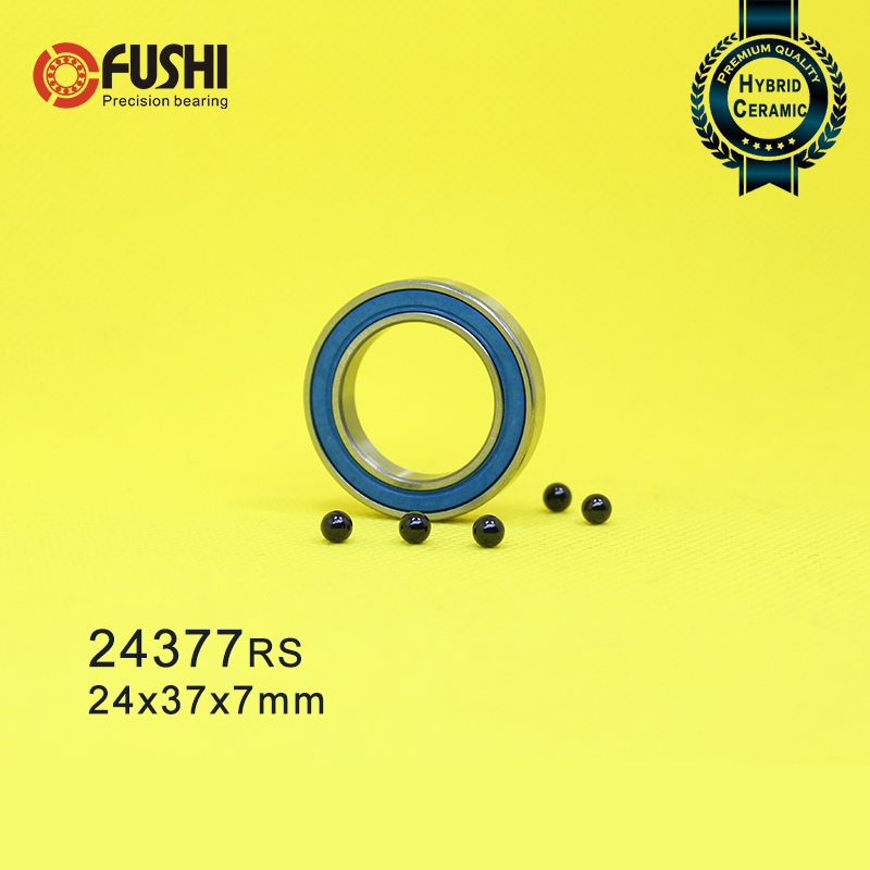 24377 Hybrid Ceramic Bearing 24x37x7mm ABEC-1 ( 1 PC ) Bicycle Hub 24377RS Si3N4 Ball Bearings 24377-2RS MR24377 H7 2RS24377 Hybrid Ceramic Bearing 24x37x7mm ABEC-1 ( 1 PC ) Bicycle Hub 24377RS Si3N4 Ball Bearings 24377-2RS MR24377 H7 2RS