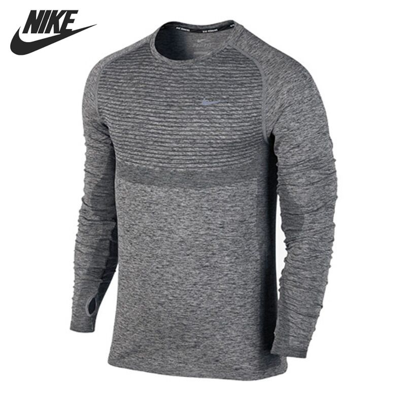 Original New Arrival  NIKE Mens T-shirts shirt Long sleeve Sportswear