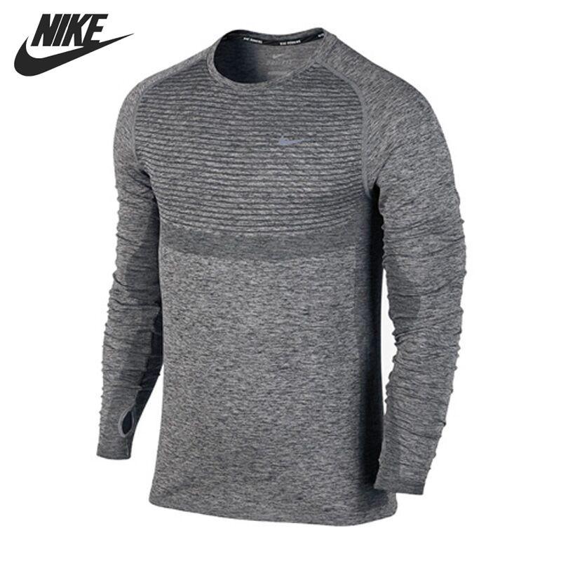 Original New Arrival NIKE Men's T shirts shirt Long sleeve ...