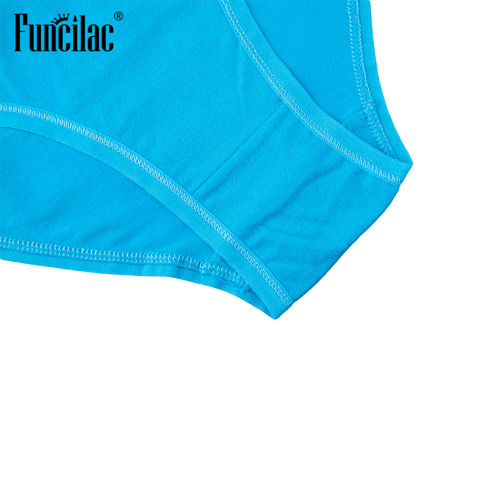 FUNCILAC Womens Underwear Hollow Sexy Panties Simple Solid Pink Seamless Intimates For Women Multicolor Womens Briefs 5Pcs/Lot